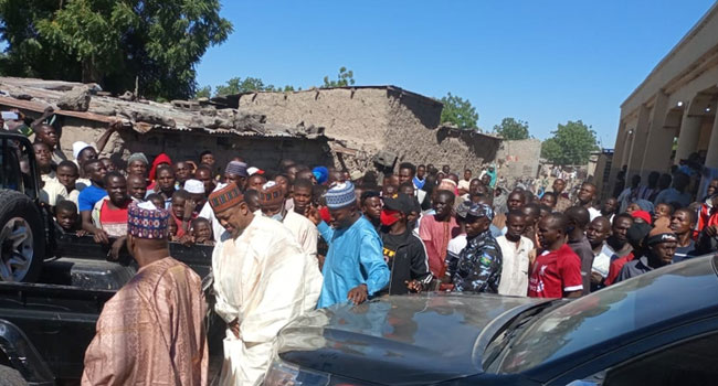 FG Delegation, NASS Members Visit Borno After Insurgent Attack On Rice Farmers