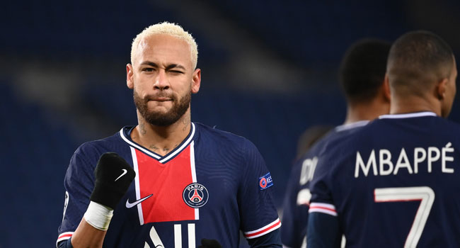 Neymar Penalty Keeps PSG On Course In Champions League
