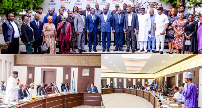 Obaseki Dissolves Cabinet, Lauds Contributions Of Ex-Exco Members In Devt Of Edo