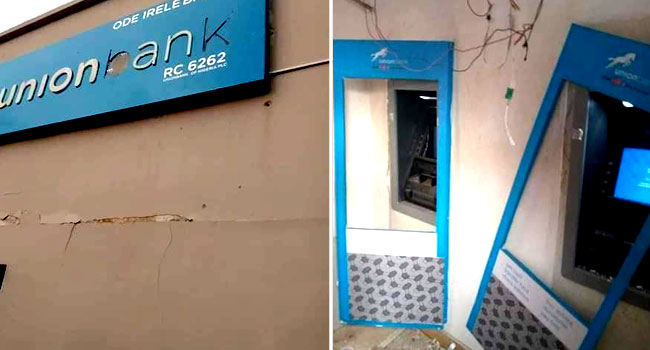 Robbers Attack Commercial Bank, Police Station In Ondo