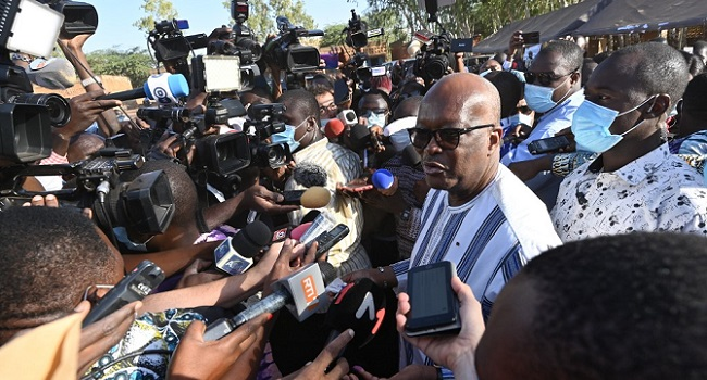 Burkina Faso Incumbent Kabore Wins Presidential Election