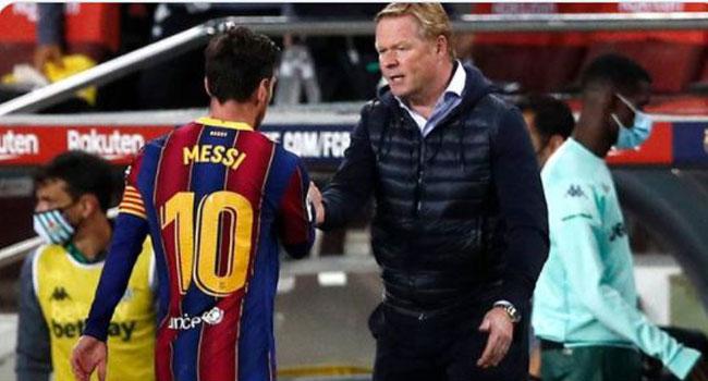 Koeman Uncertain About Messi's Future At Barcelona