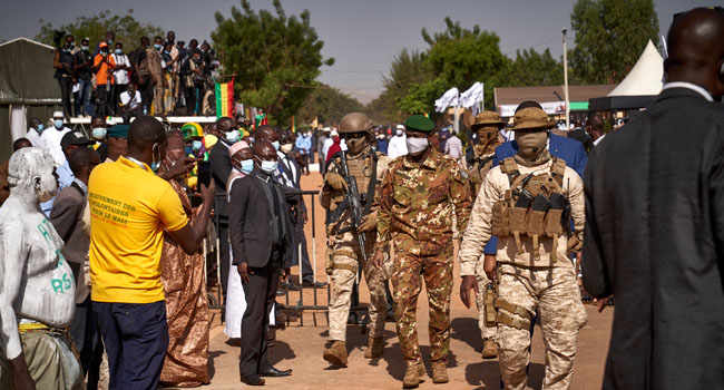 Mali Holds State Funeral For Ex-President Toure