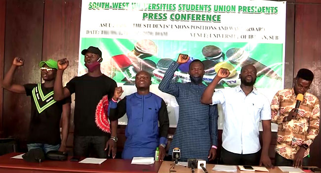 ASUU Strike: Students Demand Immediate Resolution, Issue Ultimatum To FG