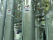 ) A handout picture released by Iran's Atomic Energy Organization on November 4, 2019, shows the atomic enrichment facilities Natanz nuclear power plant, some 300 kilometres south of capital Tehran. Atomic Energy Organization of Iran / AFP