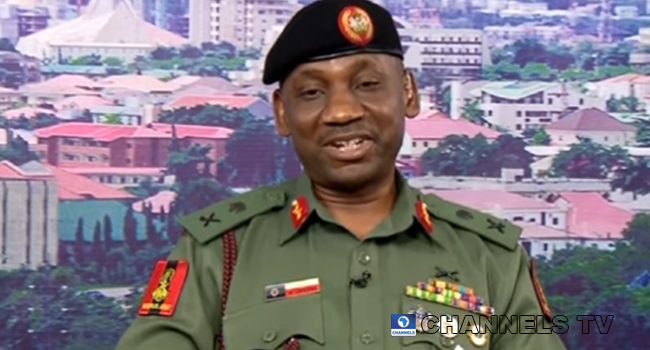 Major-General Solomon Udounwa, Commandant of the Army War College, made an appearance on Sunrise Daily on November 26, 2020.