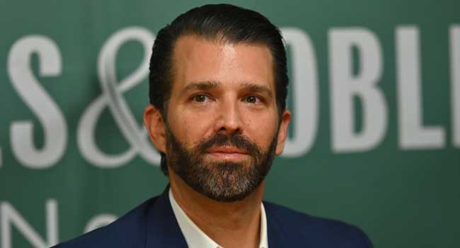 Trump's Son Don Jr Tests Positive For COVID-19