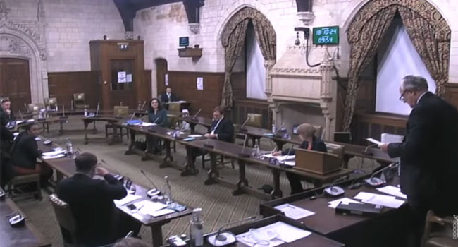 #EndSARS: UK Parliament Wants Nigerian Officials, Security Agencies Sanctioned For Rights Abuses