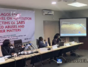 The Lagos State #EndSARS Judicial Panel viewed the footage of the Lekki shootings on November 6, 2020.