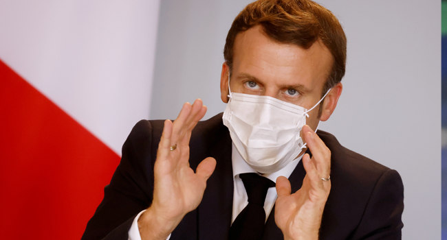 Macron 'Stable' After COVID-19 Infection