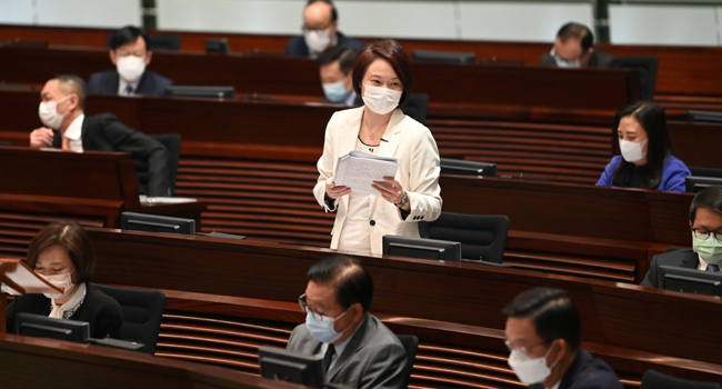 China Condemns Mass Resignations In Hong Kong Legislature