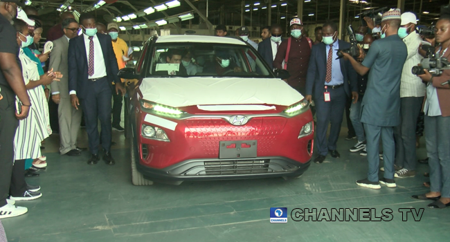 A locally assembled electric car was launched in Lagos on November 13, 2020.