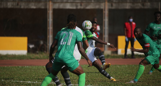 The Super Eagles of Nigeria played a goalless draw against Sierra Leone in Freetown on November 17, 2020.