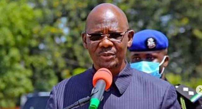 A file photo of Nasarawa State Governor, Abdullahi Sule.