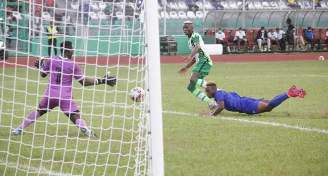 AFCON Qualifier: Nigeria Blow Four-Goal Lead Against Sierra Leone