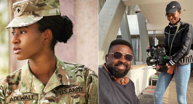 Camera Assistant On Kunle Afolayan's 'Citation' Joins US Army