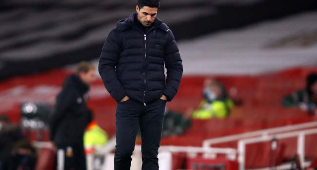'We Don't Have The Luck': Arteta Blames Ill-Luck For Defeat Against Everton