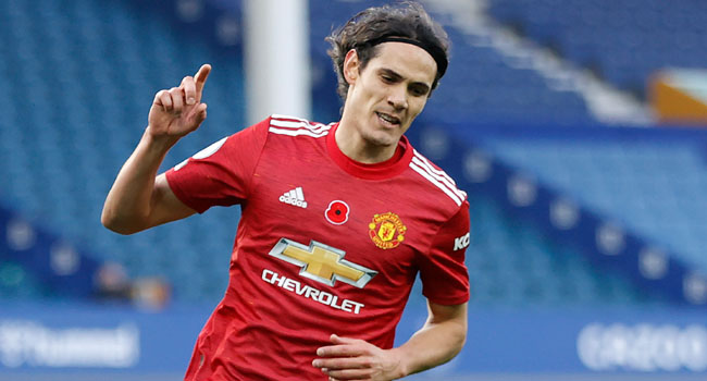 Cavani, Fernandes Get On Scoresheet To Guide United To Victory Against Everton