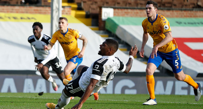 Calvert-Lewin's Brace Hands Everton First Win In Five League Games