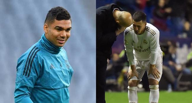 Real Madrid's Hazard, Casemiro Test Positive For COVID-19