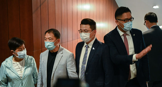 Expulsion Of Hong Kong Lawmakers 'Right Medicine' For Normal Operation: China