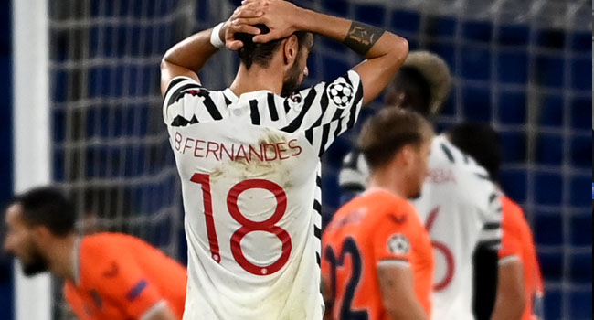 Man United Suffer Back-To-Back Defeat After Slumping Against Istanbul Basaksehir
