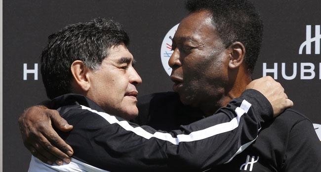 'I Hope We'll Play Soccer Together In The Sky': Pele Mourns Maradona