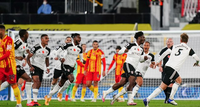 Nigeria's Ola Aina Scores Stunner As Fulham Sink West Brom