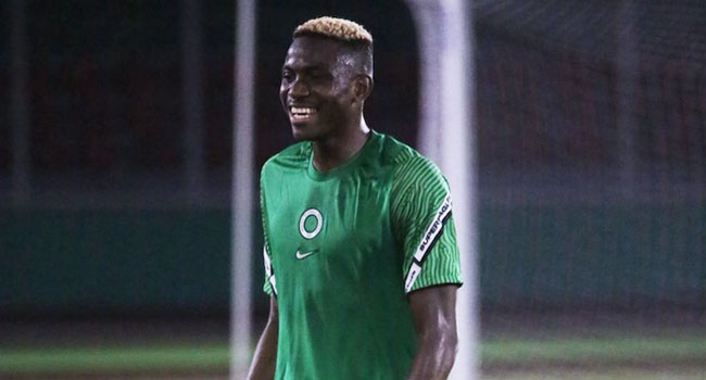 'It Is Achievable': Osimhen Confident Of Equaling Yekini's Eagles Goal Record