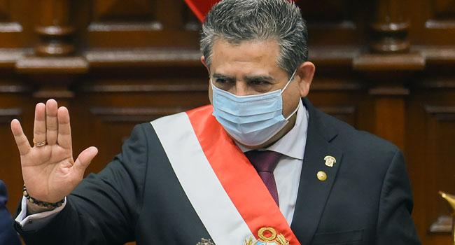 Peru President Merino Resigns Following Street Protests