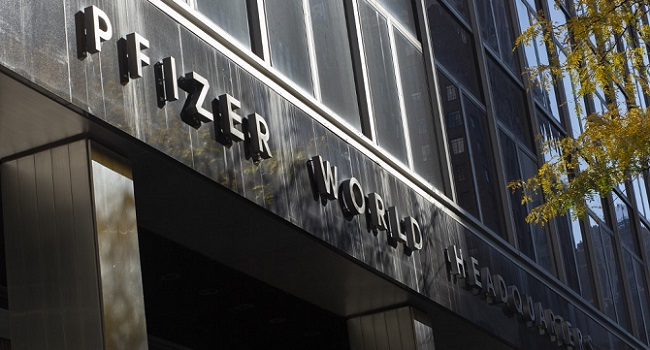 EU Still Testing Pfizer Vaccine, Keeps 2021 Forecast