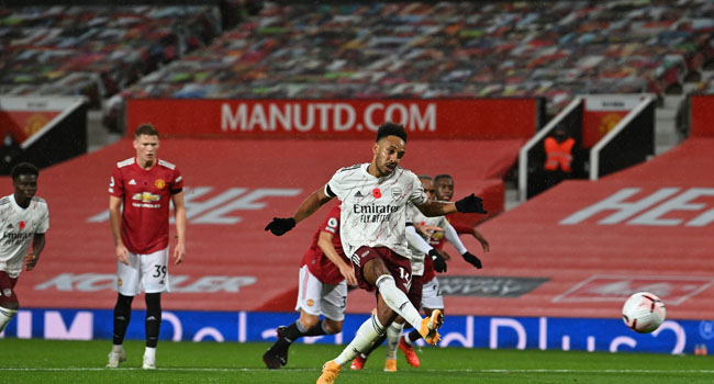 Arsenal Beat Man United, Break 14 Years Winless Streak At Old Trafford