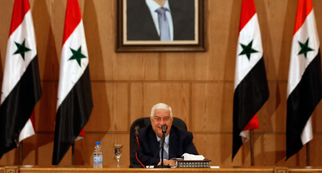 Syria's Foreign Minister, Walid Muallem, Dies At 79