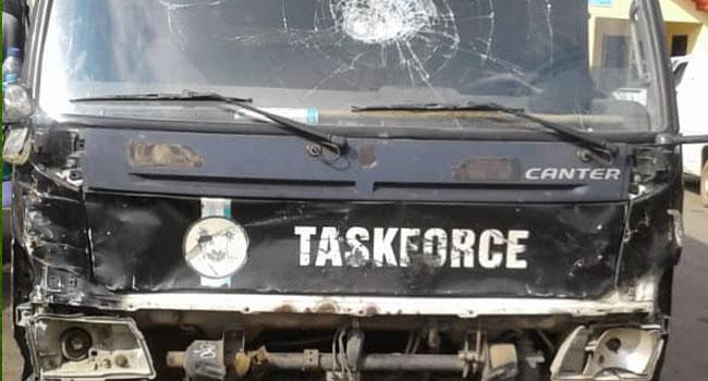 Calm Returns To Agege Motor Road After Lagos Task Force, 'Okada' Riders Clash