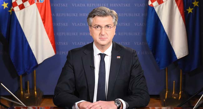 Croatia PM Receives AstraZeneca Jab To Dismiss Fears