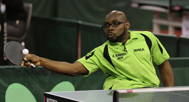 Para Table Tennis Open To Serve Off Dec 19
