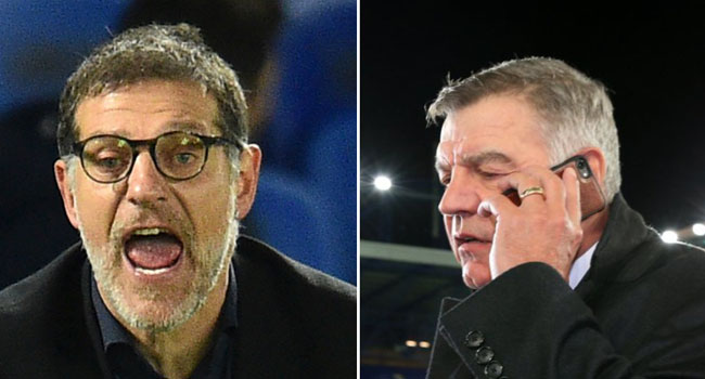 West Brom Sack Slaven Bilic, Allardyce Among Favourites To Take Over