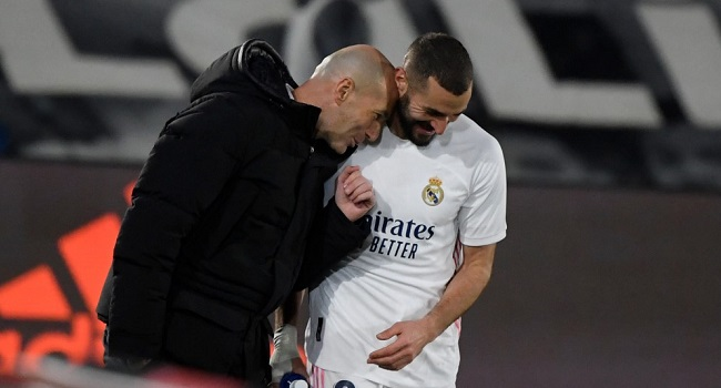 Zidane Hails Benzema As Best Ever French Centre-Forward