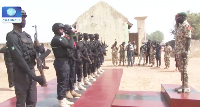 Insurgency: Buratai Visits Yobe, Asks Troops To Pray For Fallen Soldiers