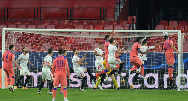 Champions League: Chelsea Thrash Sevilla, Secure Top Spot In Group