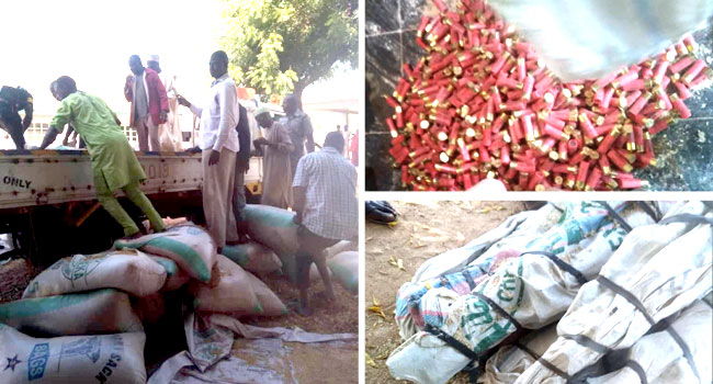 VIDEO: Customs Seize 73 Locally Made Guns, 891 Cartridges In Kebbi