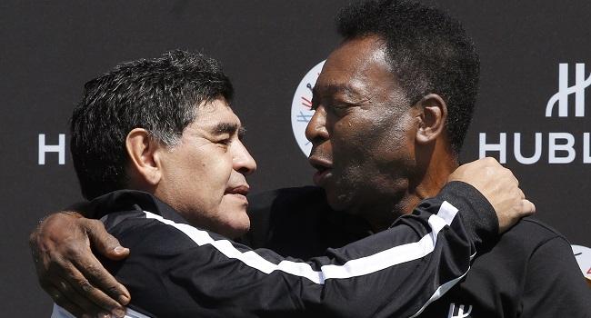 'I Love You, Diego' – Pele Pens Message For Maradona