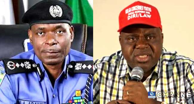 Diri Commiserates With IGP Over Death Of Police Officers In Bayelsa