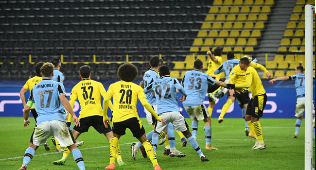 Dortmund Advance To Champions League Last 16