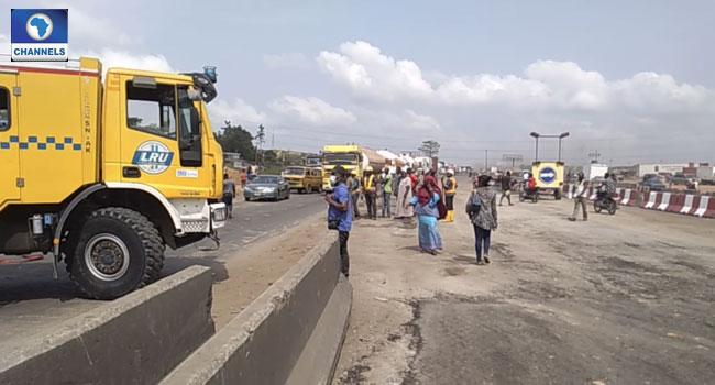 Gas Leakage Causes Panic Along Lagos-Ibadan Expressway
