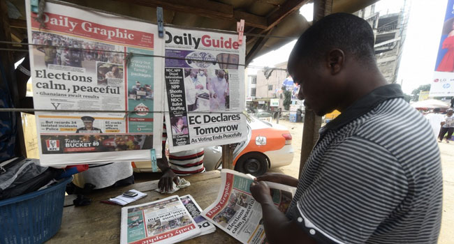 Ghana Awaits Results From Presidential Election