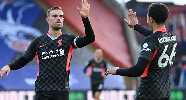 Liverpool Put Seven Goals Past Lethargic Crystal Palace