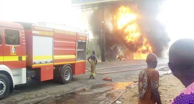 Tanker Explodes In Ibadan, Destroys Properties Worth Millions