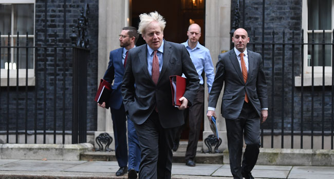 UK PM Johnson Heads To Brussels In Bid To Salvage Brexit Deal