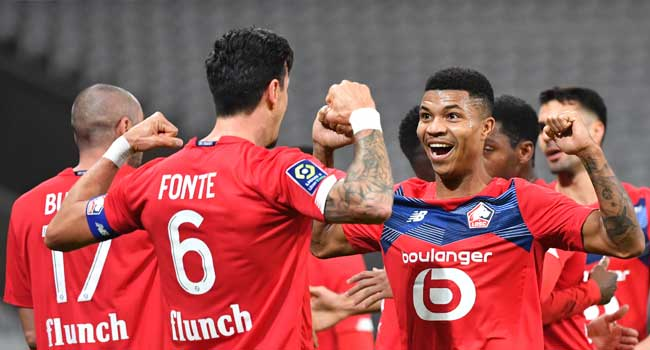 Lille Replace PSG At Top Of Ligue 1